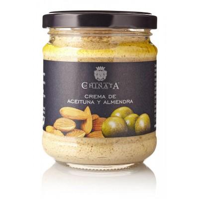 Crema de Aceitunas Verdes y Almendras