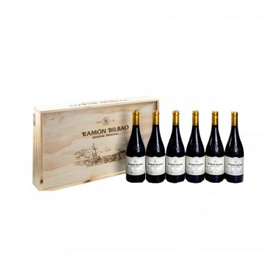 Ramón Bilbao Reserva Original (Caja madera 6 botellas)