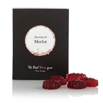 The Real Wine Gum Merlot (Single Gift Box)