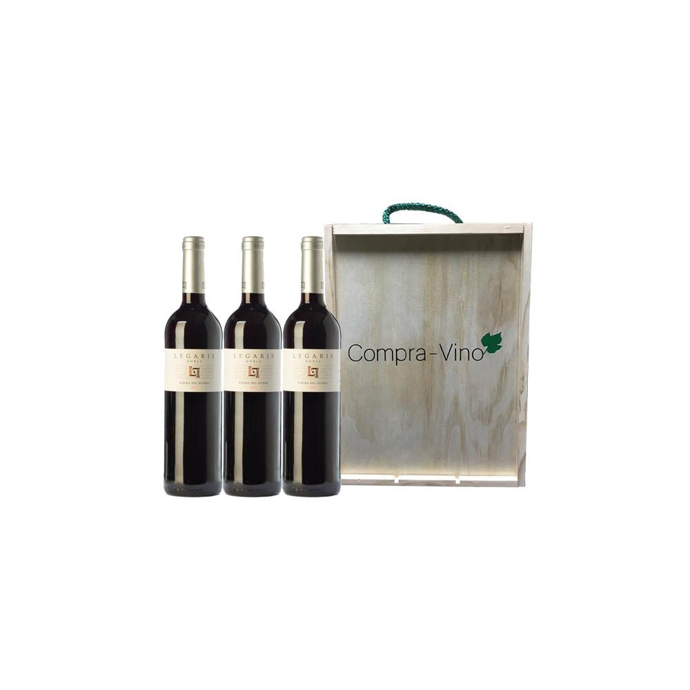 Legaris Roble (Estuche 3 Botellas)