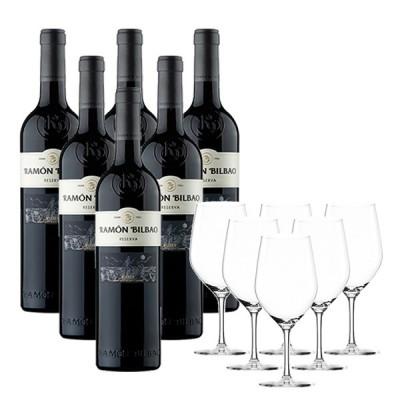 Ramón Bilbao Reserva (6 Botellas + Copas GRATIS)