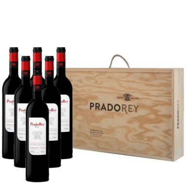 PradoRey Origen (Estuche Madera 6 Botellas)