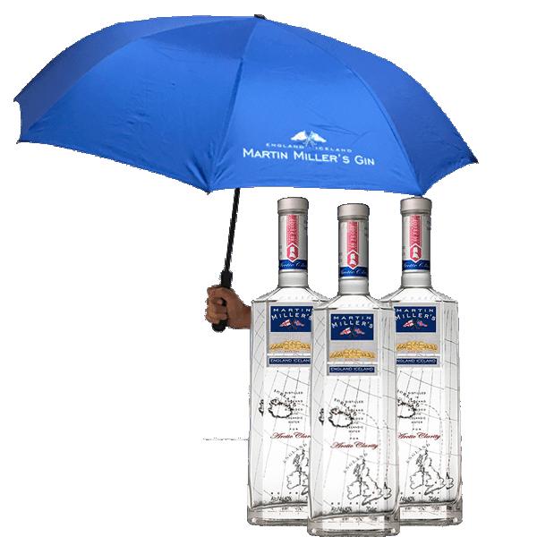 Martin Miller's (3 Botellas + Paraguas)