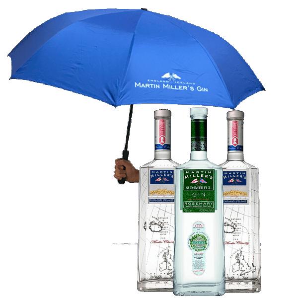 Martin Miller's Summerful (3 Botellas + Paraguas)