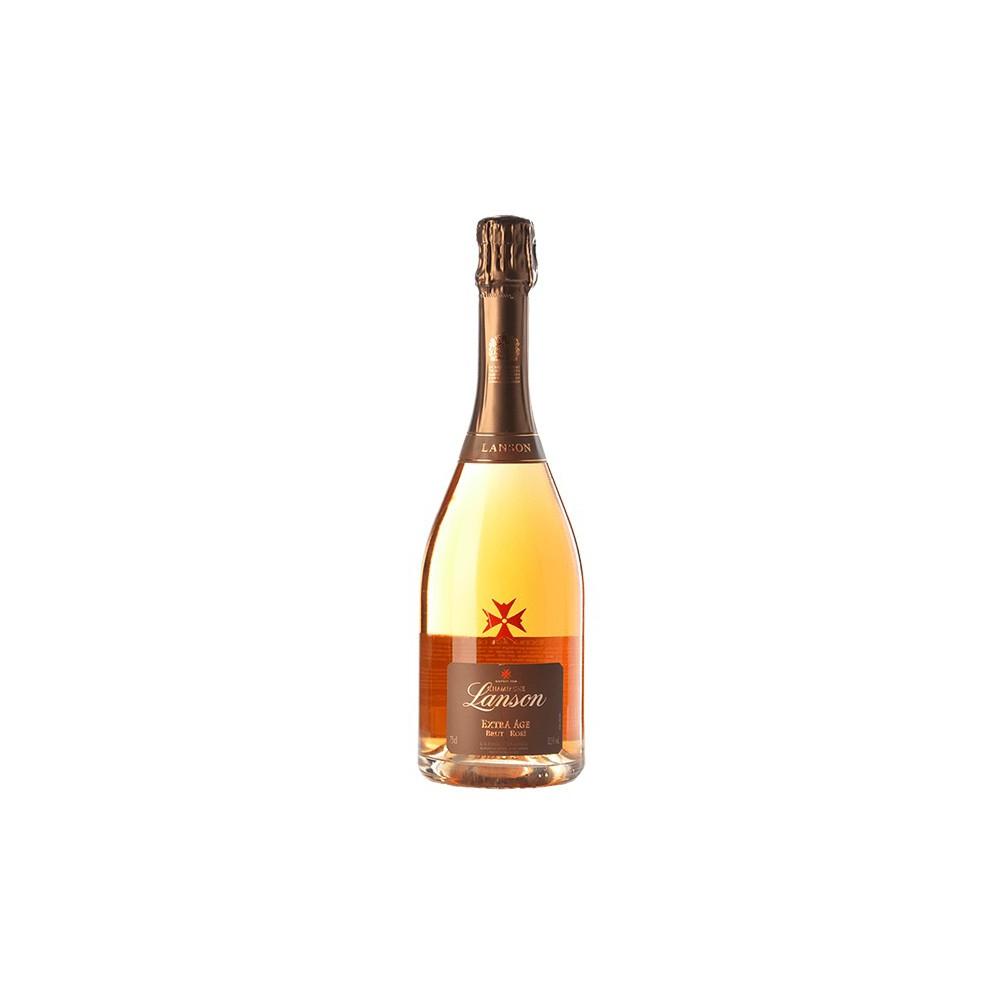 Champagne  Lanson Extra Age Brut Rosé